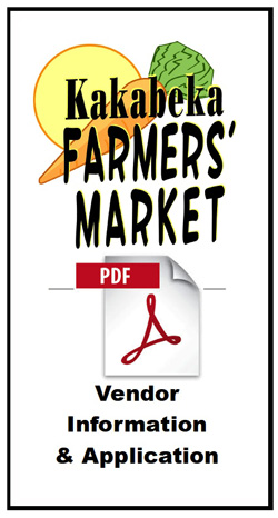 Kakabeka Farmers' Market Vendor Info Pamphlet Icon
